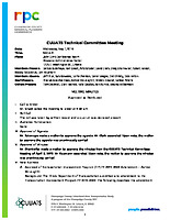May 1, 2019 CUUATS Technical Committee Approved Meeting Minutes