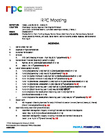 RPC Meeting Agenda 062819