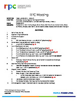 RPC Meeting Agenda 072619