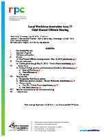 July 18, 2019 Chief Elected Officials Board Meeting Agenda and Packet