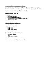 FY19 Established Priority Rankings