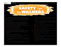 2019 Champaign-Urbana area Safety Tips for Walkers & Bikers