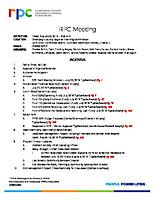 RPC Meeting Agenda 082319