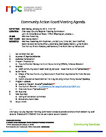 2019.01.23 Approved CAB Agenda