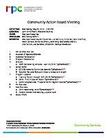 2019.05.22 CAB Agenda