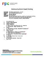 2019.08.28 CAB Agenda