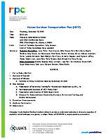 HSTP Agenda Packet 12-12-2019