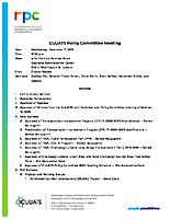 December 11, 2019 CUUATS Policy Committee Meeting Agenda