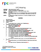 RPC Meeting Agenda 022820
