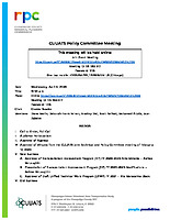 April 8, 2020 CUUATS Policy Committee Meeting Agenda