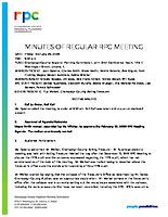 01) RPC Meeting Minutes – February 28, 2020