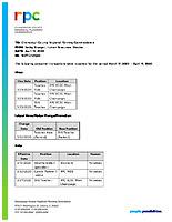 15) HR Report
