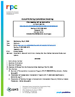 May 6, 2020 CUUATS Policy Committee Meeting Agenda