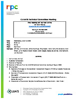 CUUATS Technical Committee Meeting  Packet