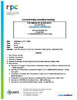 June 17, 2020 CUUATS Policy Committee Meeting Packet