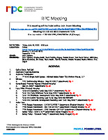RPC Meeting Agenda 062620