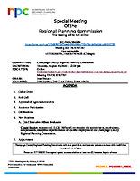Special Meeting Agenda – 081020