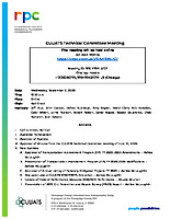 September 2, 2020 CUUATS Technical Committee Meeting Agenda
