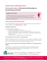 (Spanish) Nov. 16 Eviction Moratorium