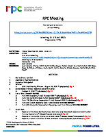 RPC Meeting Agenda 112020
