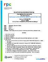 December 9, 2020 CUUATS Policy Committee Meeting Agenda