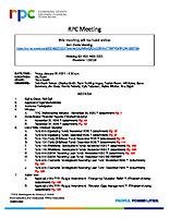 RPC Meeting Agenda 012221 FINAL