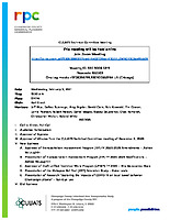 February 3, 2021 CUUATS Technical Committee Meeting Agenda
