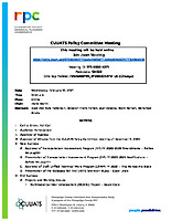 February 10, 2021 CUUATS Policy Committee Meeting Agenda