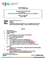 RPC Meeting Agenda 022621