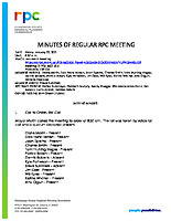 RPC Meeting Minutes 012221