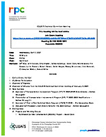 April 7, 2021 CUUATS Technical Committee Meeting Agenda