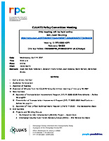April 14, 2021 CUUATS Policy Committee Meeting Agenda