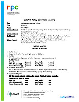 February 10, 2021 CUUATS Policy Committee Approved Meeting Minutes