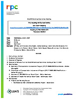 CUUATS Technical Committee Meeting Agenda