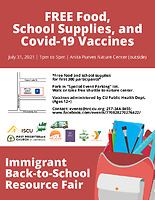 2021 Immigrant Back-to-School Resource Fair