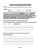 Community Member Appointment Request Form 2021
