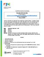 September 1, 2021 CUUATS Technical Committee Meeting Agenda