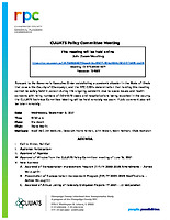 September 8, 2021 CUUATS Policy Committee  Meeting Agenda