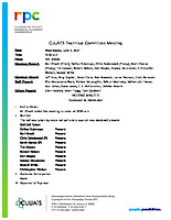 June 9, 2021 CUUATS Technical Committee Approved Meeting Minutes