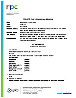 June 16,, 2021 Policy Committee Approved Meeting Minutes