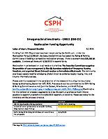 ESG-CV RE-AL Proposal Checklist