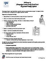 Head Start Expectant Family Application