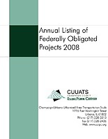 Federally Obligated Projects: FY2008