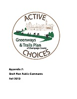 A7 — Draft plan public comments