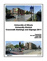 University District Crosswalk Markings and Signage 2011