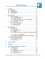 02 — Table of contents