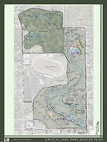 09 — Crystal Lake Park Master Plan map