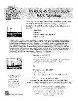 A6 — Public workshops (June 28, 2005)