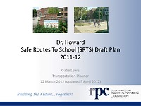 Dr. Howard plan presentation