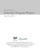 Federally Obligated Projects: FY2015